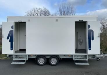 Hulshorst Verhuur toiletwagen 3-1-3